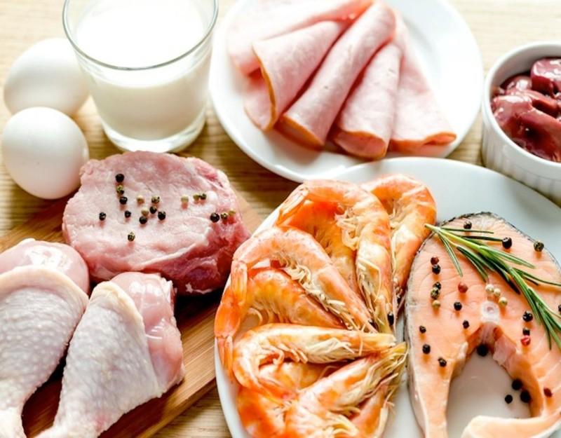 thưc ăn giàu protein