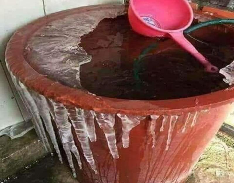 nước đóng băng