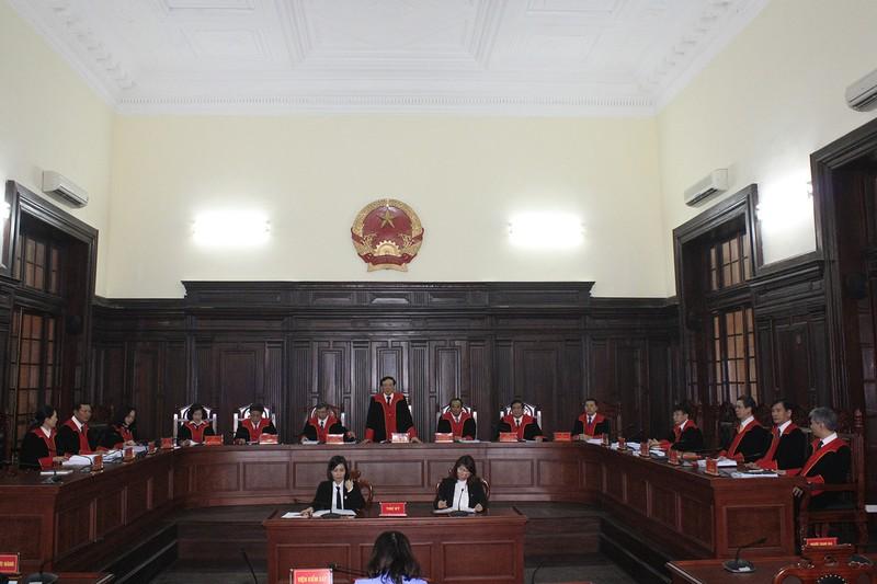 Triển khai thí điểm trang phục xét xử của thẩm phán  - ảnh 1