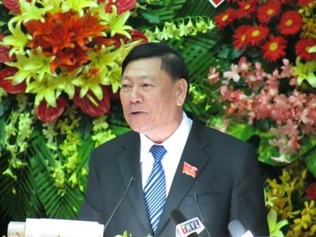 Ông Trần Văn Rón tái đắc cử bí thư Tỉnh ủy Vĩnh Long  - ảnh 2