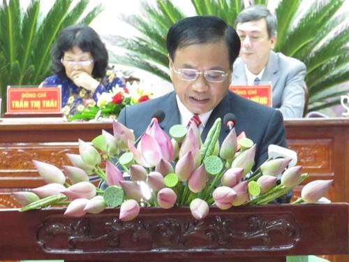 Khai mạc Đại hội đại biểu Đảng bộ tỉnh Đồng Tháp lần thứ X - ảnh 1