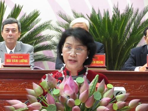 Khai mạc Đại hội đại biểu Đảng bộ tỉnh Đồng Tháp lần thứ X - ảnh 2