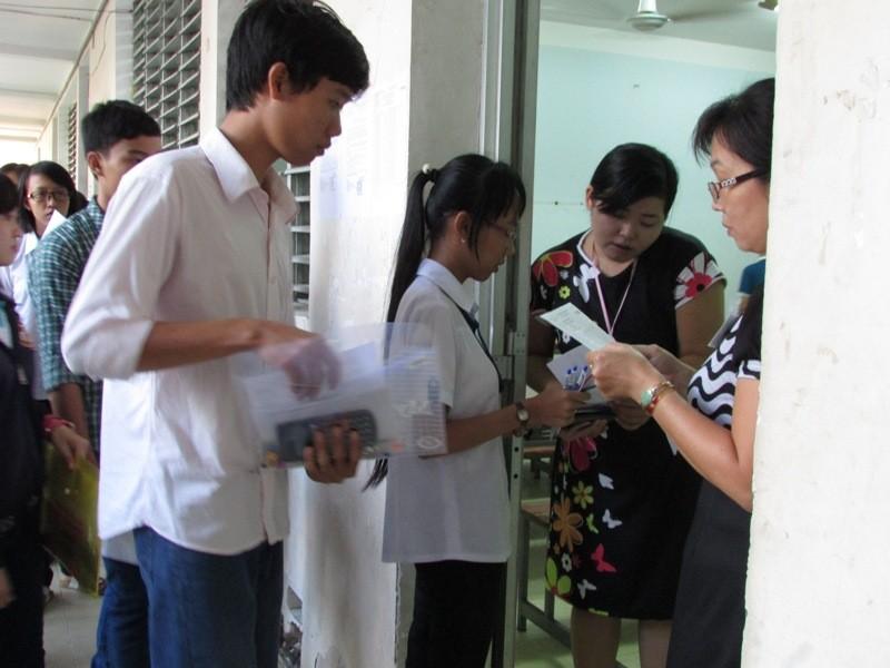 Cần Thơ: 132 thí sinh vắng thi môn toán - ảnh 1