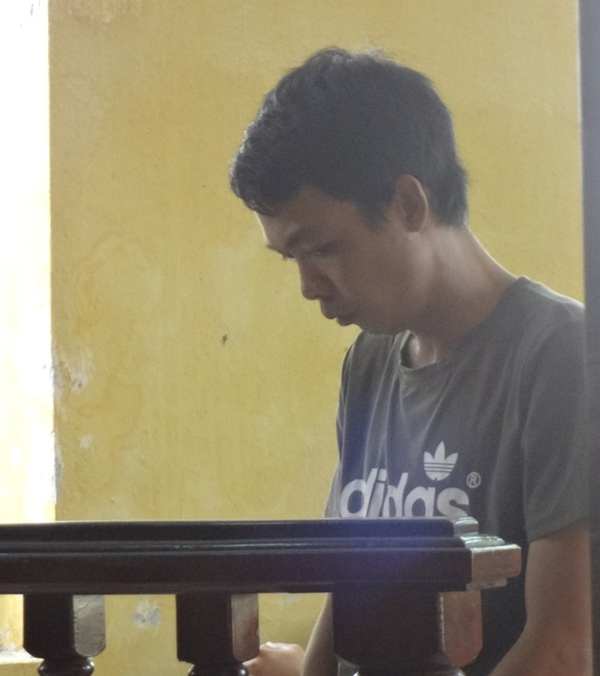 Bị cáo Nguyễn Phi Long tại tòa Ninh Kiều ngày 4-7.