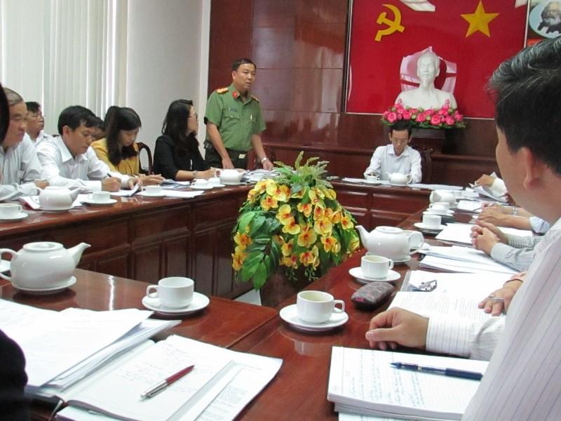Cuộc họp Ban chỉ đạo liên ngành VSATTP TP Cần Thơ