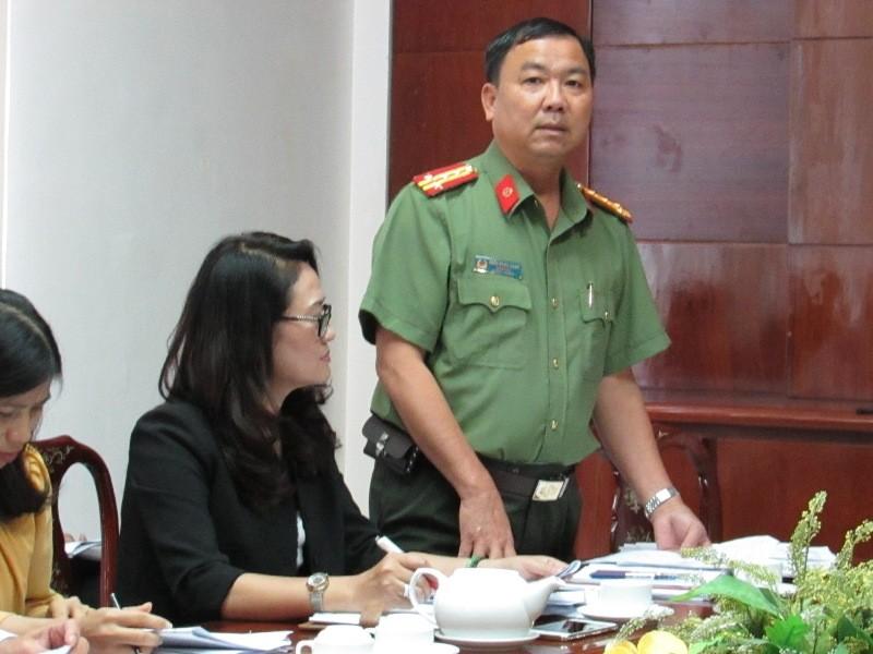 Đại tá Trần Ngọc Hạnh góp ý đi kiểm tra VSATTP