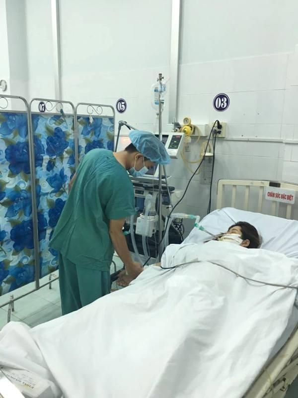 Sản phụ PHC đang được các bác sĩ theo dõi sức khỏe tại BV