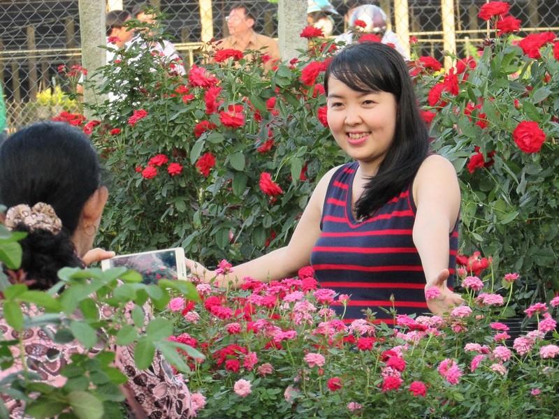 Hàng ngàn người về Sa Đéc ngắm hoa - ảnh 1