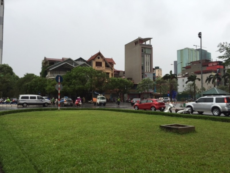 Bão số 1 tràn về Hà Nội: Cây đổ tan hoang - ảnh 10