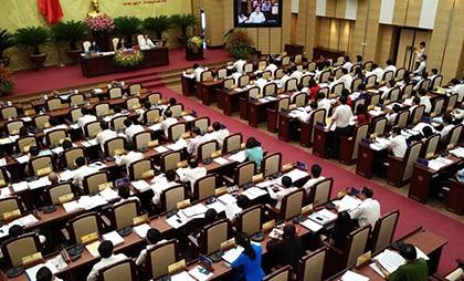 Kỳ họp 2, HĐND TP Hà Nội khoá XV khai mạc vào hôm nay 1-8