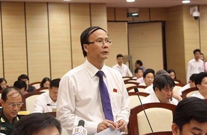 Ông Nguyễn Hoài Nam, Trưởng ban Pháp chế HĐND TP Hà Nội