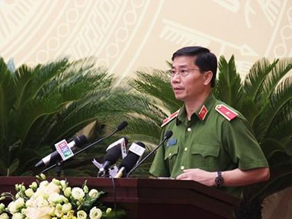 ông Hoàng Quốc Định, Giám đốc Sở CS PCCC Hà Nội
