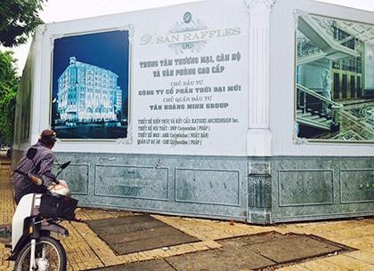 Khu đất vàng góc phố Hàng Bài- Hai Bà Trưng sẽ được xây khách sạn 5 sao