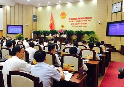 HĐND TP Hà Nội bãi nhiệm tư cách đại biểu của bà Nguyệt Hường - ảnh 1