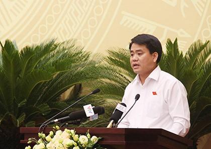 Chủ tịch Hà Nội: 5 năm tới, người dân có thể uống nước sạch tại vòi