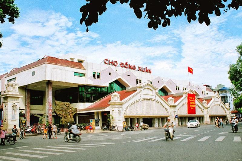 Quận Hoàn Kiếm đề xuất xây mới chợ Đồng Xuân - ảnh 1
