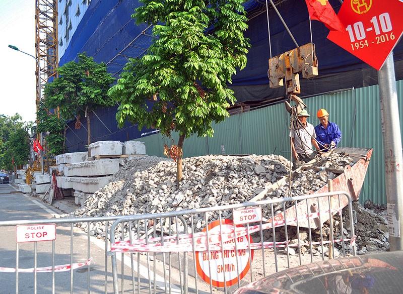 Lên phương án cắt ngọn nhà 8B Lê Trực giai đoạn 2 - ảnh 1