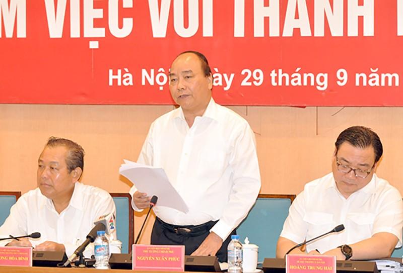 Thủ tướng: Hà Nội phải là điển hình thu hút người tài - ảnh 1