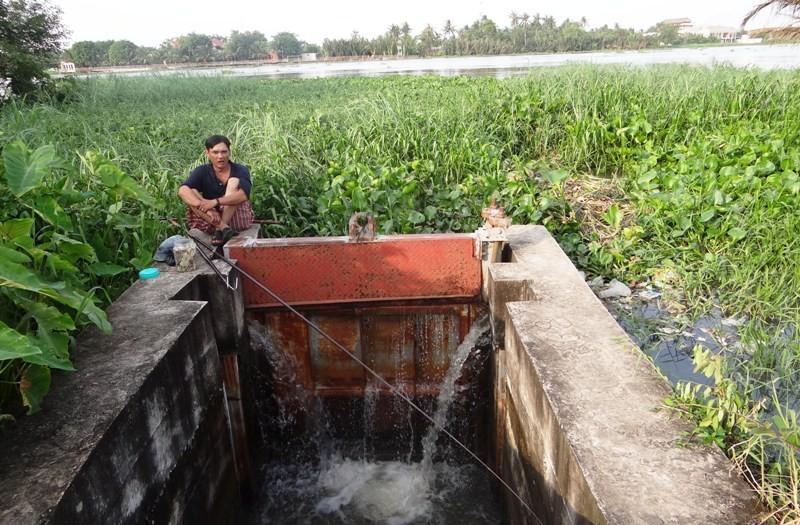 Làm đường nhựa trên đê sông Sài Gòn - ảnh 2