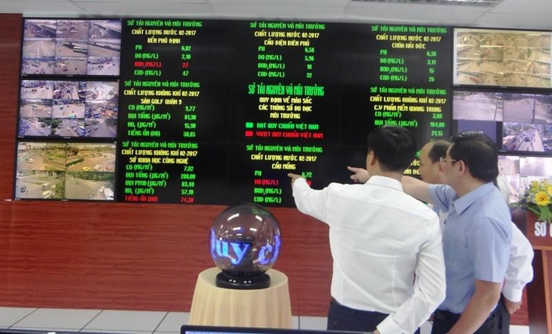 Dân SG nhìn bảng điện tử để biết ô nhiễm môi trường - ảnh 1