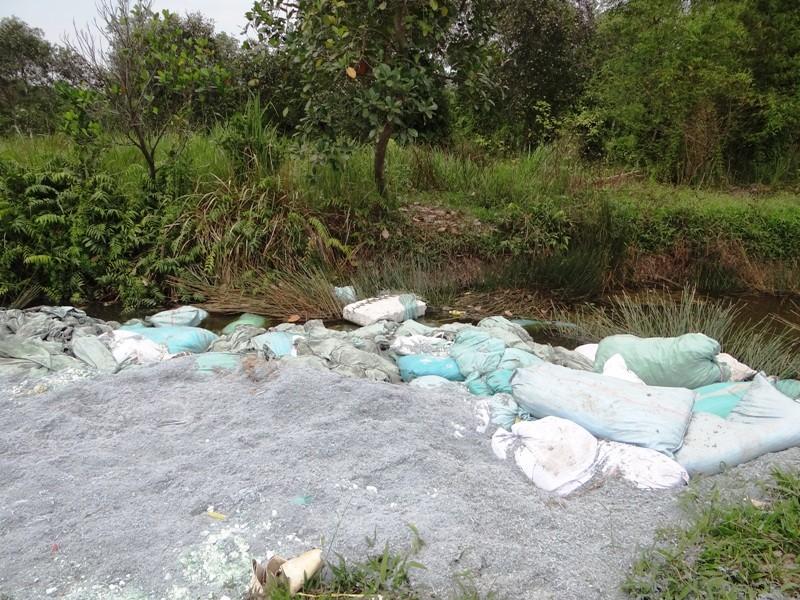 Bắt xe đổ chất thải lạ gần kênh Thầy Cai, Sài Gòn - ảnh 4