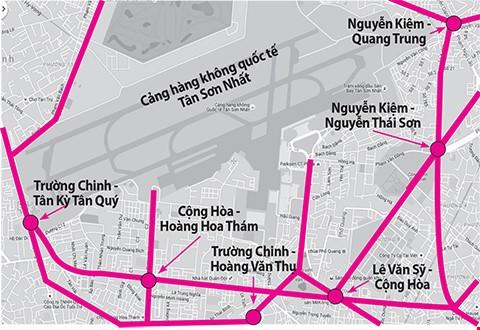 Trổ thêm cổng vào sân bay Tân Sơn Nhất - ảnh 1