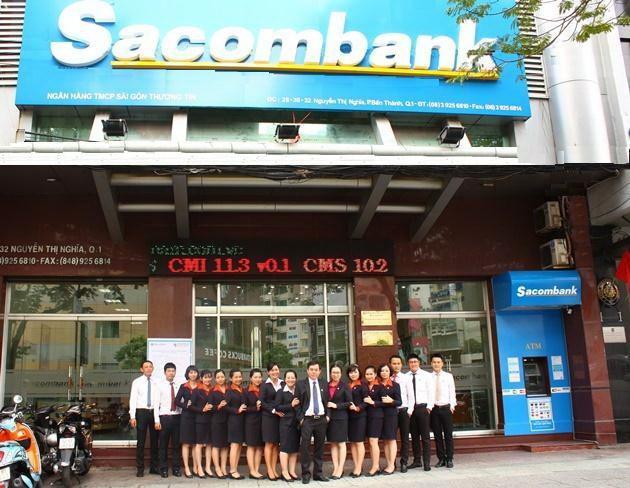 Sacombank - Ngày đầu tiên sáp nhập - ảnh 1