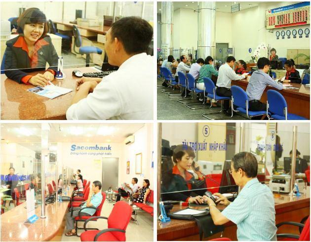 Sacombank - Ngày đầu tiên sáp nhập - ảnh 3