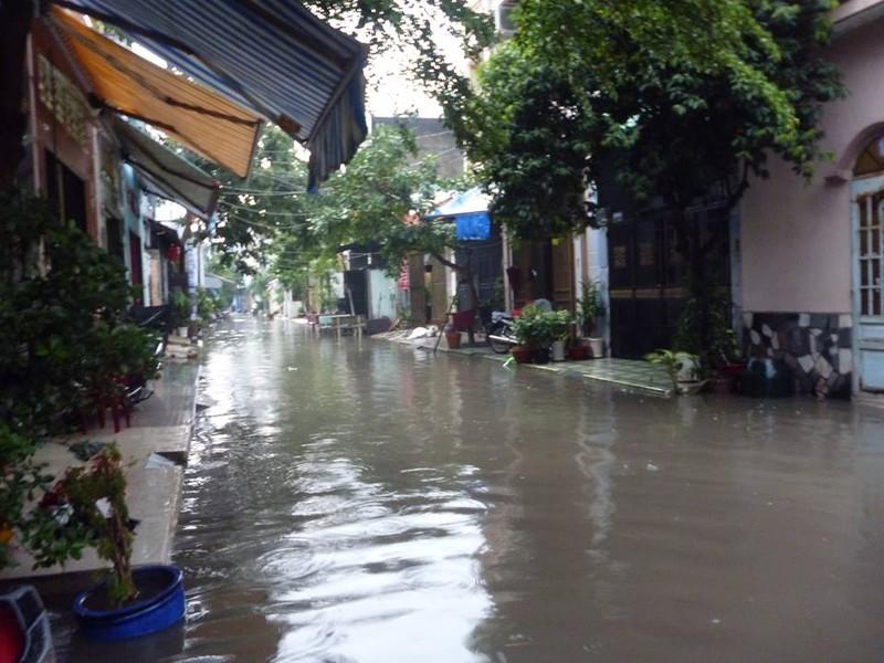 Mưa lớn, đường Sài Gòn lại ngập - ảnh 8