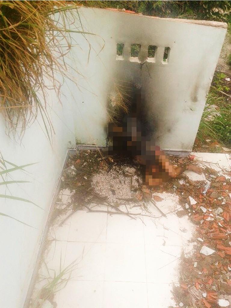 Kinh hoàng phát hiện phụ nữ chết cháy trong căn nhà hoang - ảnh 1