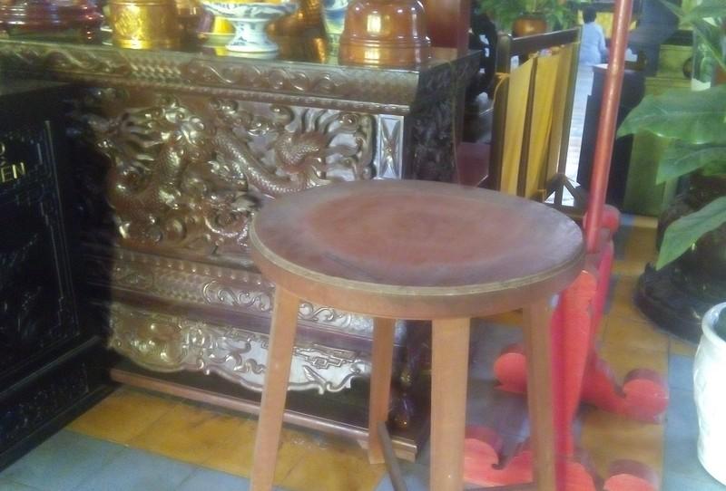 Chùa Long Sơn mất chuông đồng nặng gần 20 kg - ảnh 1