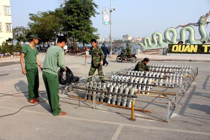 Hà Nội: Sẵn sàng khai hỏa 31 trận địa pháo trong đêm giao thừa - ảnh 1