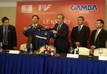 PVF hợp tác Gamba Osaka - ảnh 1