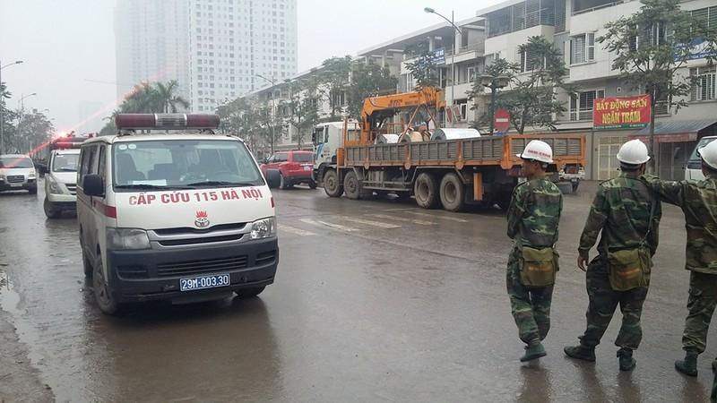 Chùm ảnh hiện trường vụ nổ kinh hoàng ở Văn Phú - Hà Đông - ảnh 6
