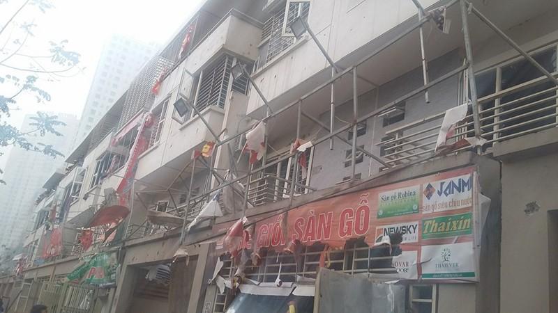 Chùm ảnh hiện trường vụ nổ kinh hoàng ở Văn Phú - Hà Đông - ảnh 8