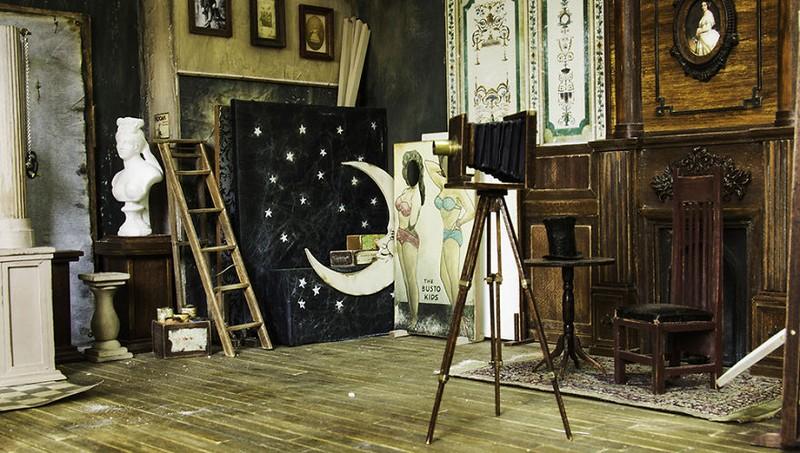Mê mẩn với studio tí hon của nghệ nhân Alamedy Diorama  - ảnh 4