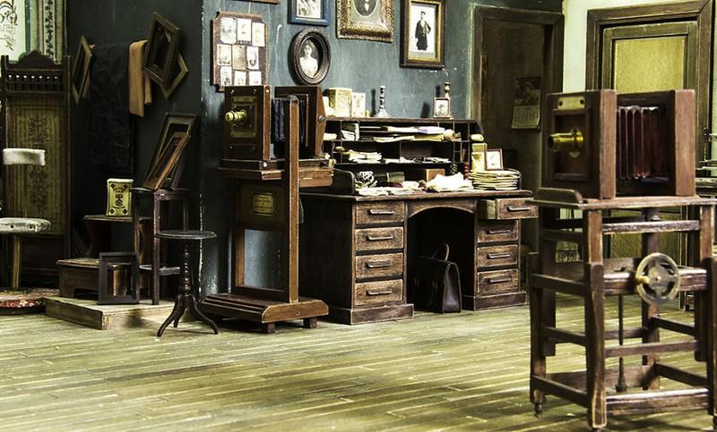 Mê mẩn với studio tí hon của nghệ nhân Alamedy Diorama  - ảnh 2
