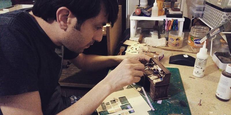 Mê mẩn với studio tí hon của nghệ nhân Alamedy Diorama  - ảnh 3
