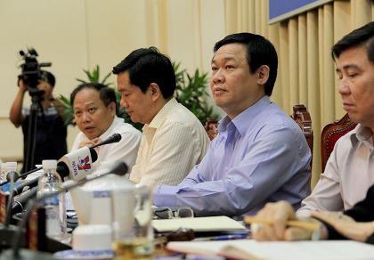 Làm việc với phó thủ tướng, TP.HCM đề xuất nhiều vấn đề  - ảnh 1