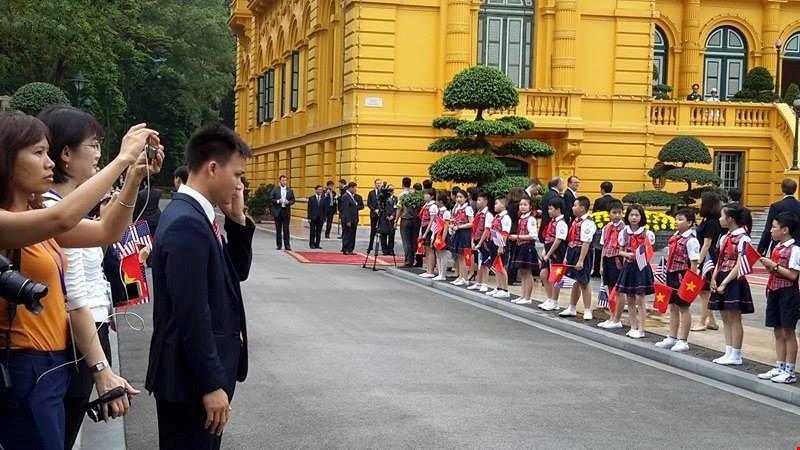 Chùm ảnh: Lễ đón chính thức Tổng thống Obama  - ảnh 8