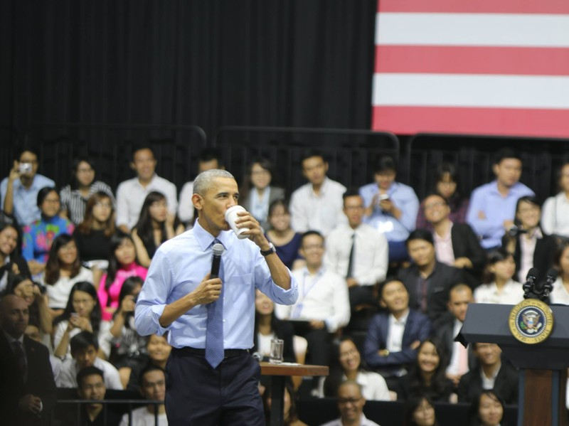 Chuyến đi của Tống thống Obama dưới ống kính PV nước ngoài - ảnh 22
