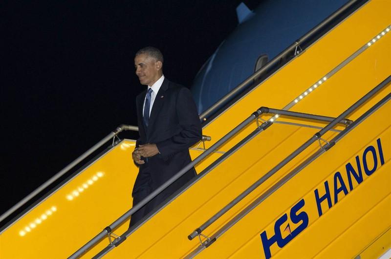 Chuyến đi của Tống thống Obama dưới ống kính PV nước ngoài - ảnh 1