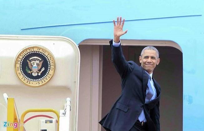 Chuyến đi của Tống thống Obama dưới ống kính PV nước ngoài - ảnh 23