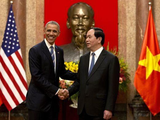 Chuyến đi của Tống thống Obama dưới ống kính PV nước ngoài - ảnh 5