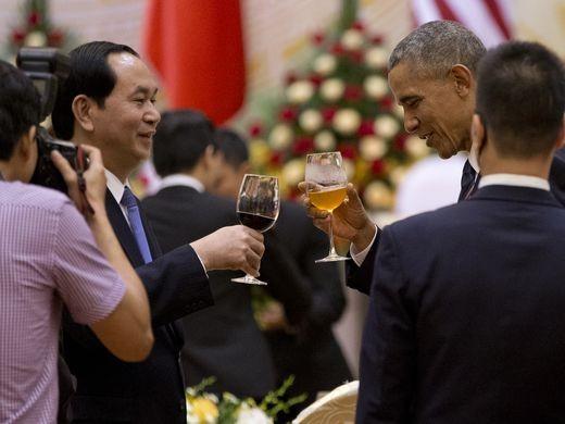 Chuyến đi của Tống thống Obama dưới ống kính PV nước ngoài - ảnh 12