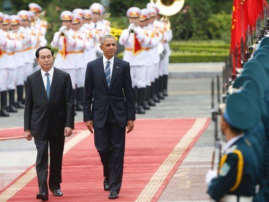Chuyến đi của Tống thống Obama dưới ống kính PV nước ngoài - ảnh 4