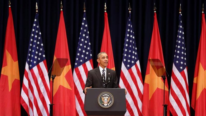 Chuyến đi của Tống thống Obama dưới ống kính PV nước ngoài - ảnh 17