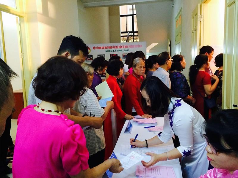 Hà Nội: Giải quyết hàng trăm đơn thư khiếu nại, tố cáo về bầu cử - ảnh 1