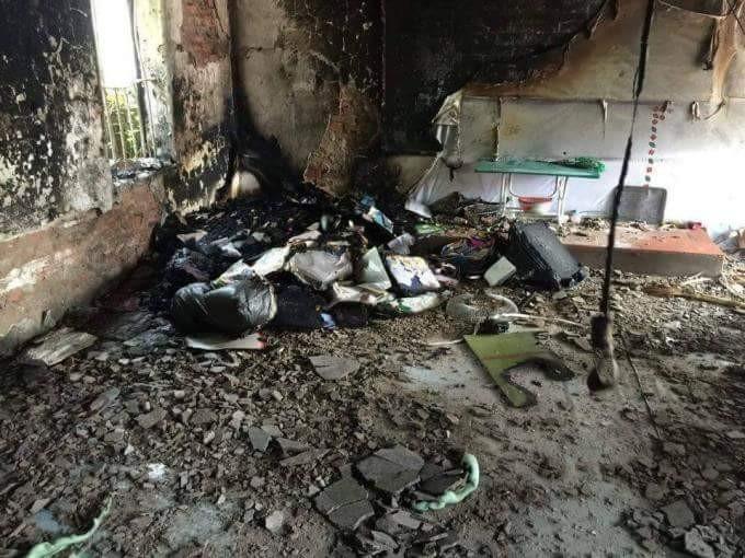 Cháy lớn trong đêm, trường mầm non chìm trong biển lửa - ảnh 1