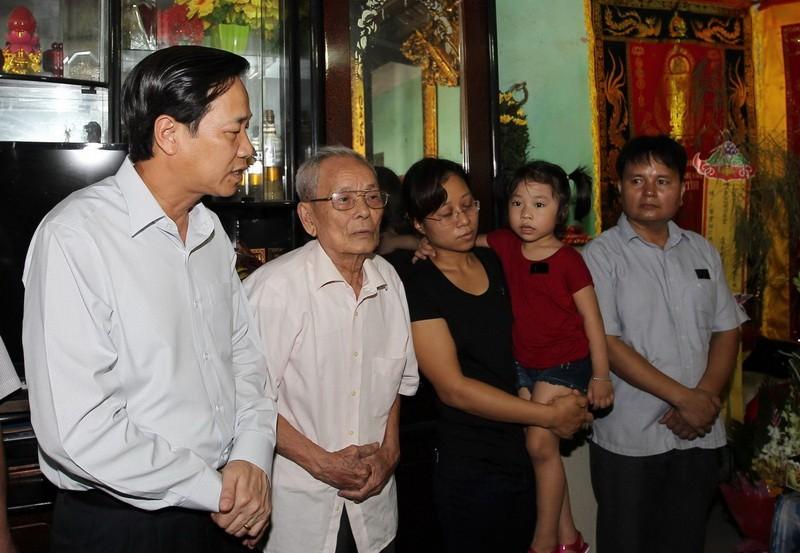 Ông Đào Ngọc Dung gửi lời chia buồn sâu sắc đến thân nhân gia đình.
